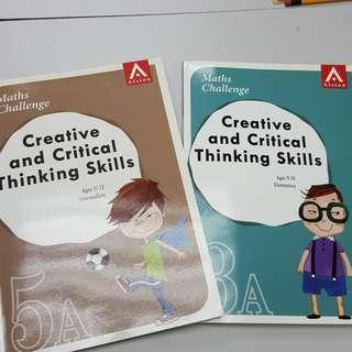 Creative and Critical Thinking Skills 3A 5A 數學思維訓練 練習 exercise
