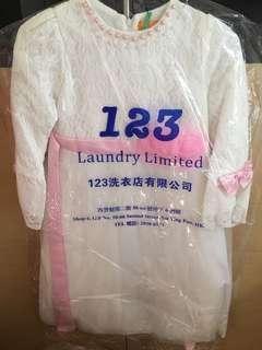 花女裙-(7-9歲)size150只著一晩,已經乾洗