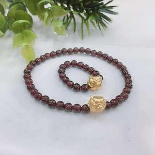 Authentic Wealthy Pig Bracelet