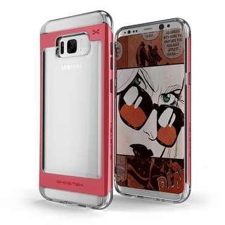 🚚 🍊CNY SALE🍊 Ghostek Galaxy S8/ S8 Plus [Cloak 2] [RED]🍊🍊