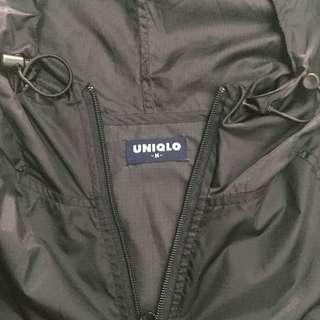 foldable jaket parasut uniqlo original