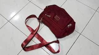 Female Red Bag