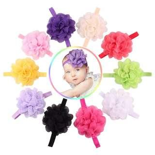INSTOCK 3 for $7 baby headbands