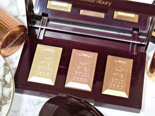 🚚 💙SUPER SALE💙CHARLOTTE TILBURY BAR OF GOLD PALETTE