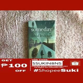 Someday – David Levithan