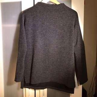 Oak and Fort Mock Neck Sweater