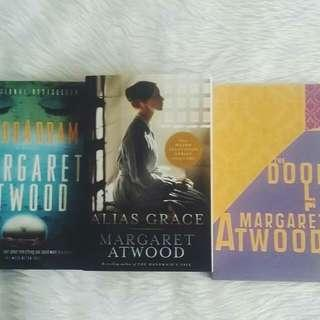 Margaret Atwood: Alias Grace / Maddaddam / The Door Poems