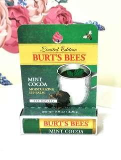 🚚 Burt's Bees 薄荷巧克力護唇膏💋