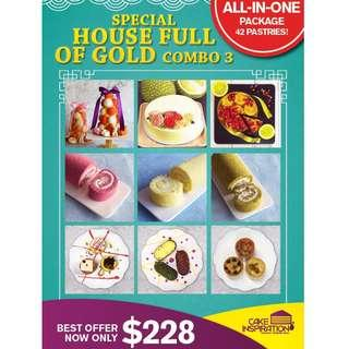 Special house full of gold combo 3 All-in-One Set