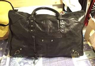 Balenciaga handbag large pure leather