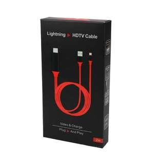 🚚 HDTV Lightning to Digital audio HDTV Cable for iPhone iOS