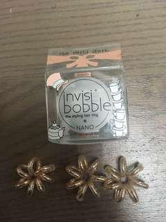 Invisibobble hair ring nano 像根