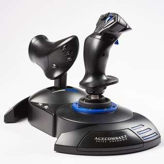 🚚 Thrustmaster Hotas 4 Ace Combat 7 Skies Unknown Limited Edition Flight Stick (PC/PS4)
