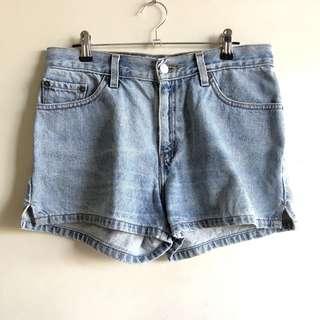 Levi's high waist mom shorts