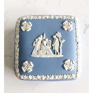 Wedgwood Jasperware Square Trinket Box