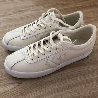 Converse Cream Leather All Star Breakpoint