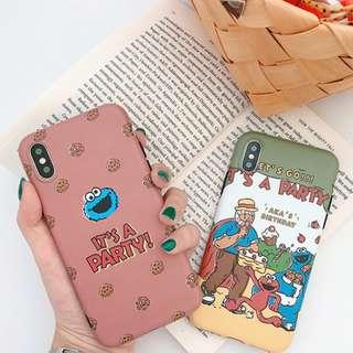 [PO] sesame street party iphone case