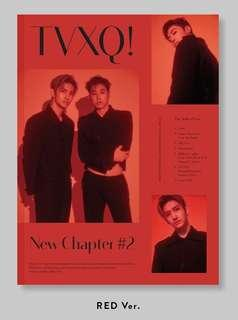 ( INSTOCK) TVXQ THE TRUTH OF LOVE RED VER