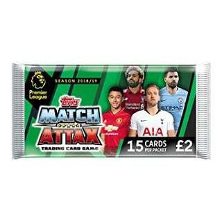 Match Attax Deluxe Packs 18/19