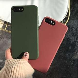 [PO] Solid color case for iPhone(s)