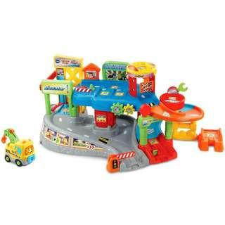 Vtech Smart Wheels Go Go Toot Toot Tow & Go Garage