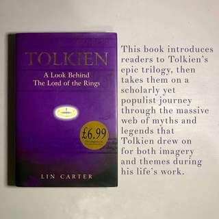 """Tolkien: A Look Behind The Lord of The Rings"" by Lin Carter"