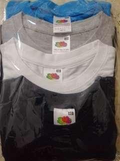 Fruit of the loom kid tshirt pack