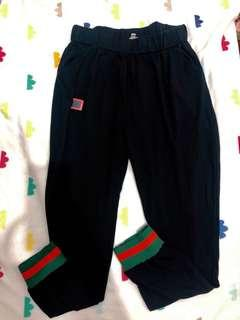 Gucci inspired soft garterized trousers (unisex) (M-XL) (a gift, never worn)