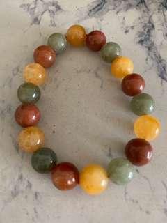 🚚 10mm Fu Lu Shou (福禄寿) crystal bracelet