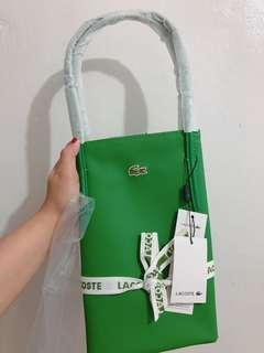 Lacoste Green tote bag fr SG