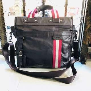 BALLY authentic leather sling bag