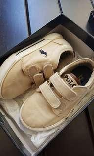 Polo ralph lauren canvas shoes for toddler