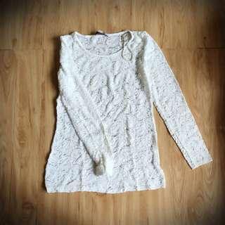 Lace Tunic/ Mini Dress