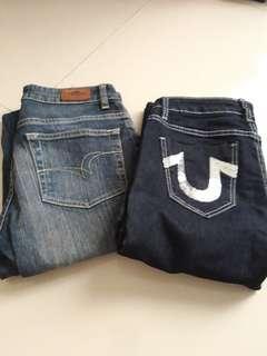 Preloved celana jeans isi 2