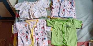 BAJU BABY NEW BORN - 15pcs Rp. 35.000