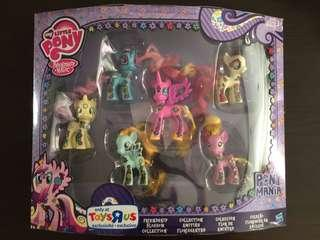 My Little Pony Friendship Blossom Collection Pony Mania Toys R Us Exclusive