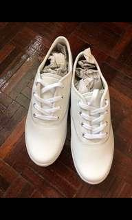 Keds White genuine leather shoes size 39.5-40