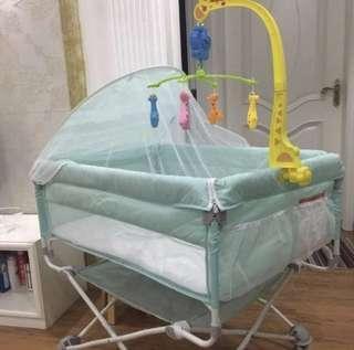 便攜可折疊嬰兒床 bb床