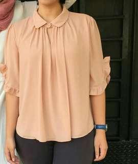 #bersihbersih blouse pink