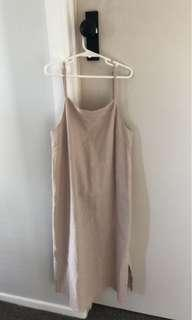 Beige rusty dress