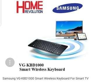 Samsung VG-KBD1000 Smart Wireless Keyboard For Smart TV