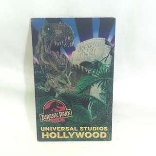 Ticket Jurassic Park The Ride Universal Studios Hollywood 1998 Original