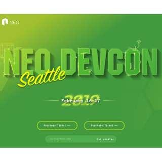 NEO Devcon (Cryptocurrency and Blockchain) Event Discounted Ticket (worth $400 SGD!)