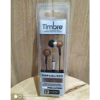 BNIB Timbre Original Earphone
