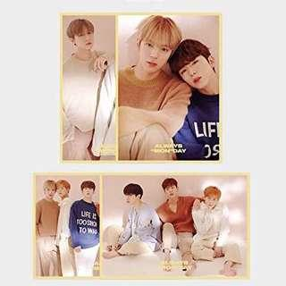 monsta x 2019 season's greetings poster set shownu wonho minhyuk kihyun hyungwon jooheon i.m changkyun