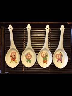 Rare 四季长春 soup ladle complete set