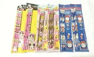 🚚 Pencil, Eraser and Sharpener