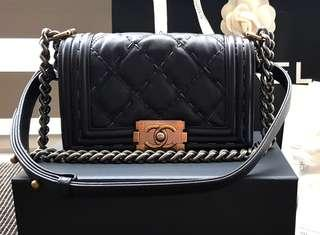 (CNY Fast Deal) Authentic Chanel Boy Flap Small