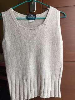 Maxmara knit sleveless