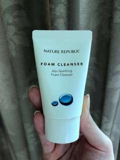 ‼️Bestselling NATURE REPUBLIC Jeju Foam Cleanser